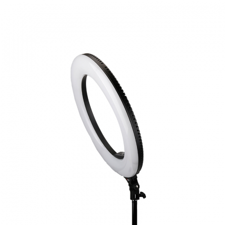Tolifo Ring Light LED 480 Lampa circulara Bicolora 48W cu stativ [2]