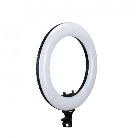 Tolifo Ring Light LED 480 Lampa circulara Bicolora 48W cu stativ [1]