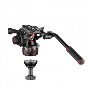 Manfrotto Nitrotech 608 kit trepied video mid-spreader1