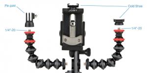 Joby GorillaPod Mobile Rig Kit Vloging pentru smartphone4