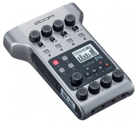 Zoom Podtrak P4 Recorder Audio Podcast 4 Canale XLR [0]