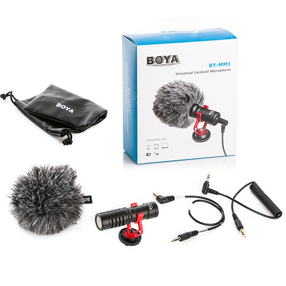 Microfon boya BY-MM1