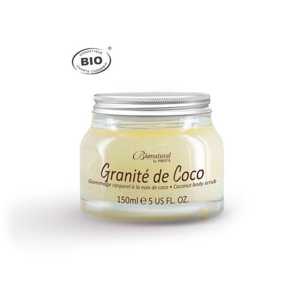 Exfoliant de corp cu nuca de cocos BIO Granité de Coco Phyt's 150ml [0]