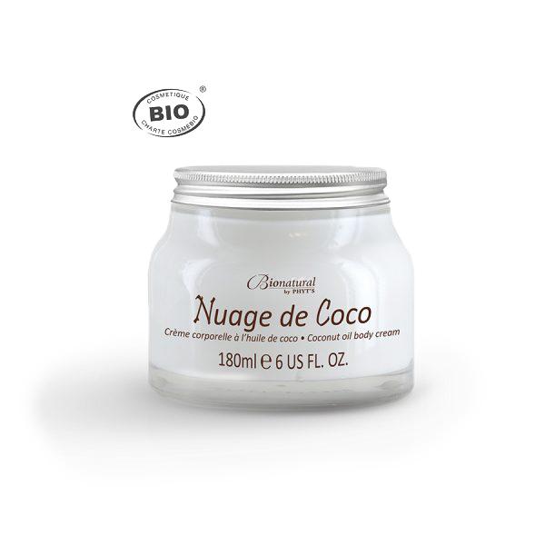 Crema de corp cu nuca de cocos BIO Nuage de coco Phyt's 180ml [0]