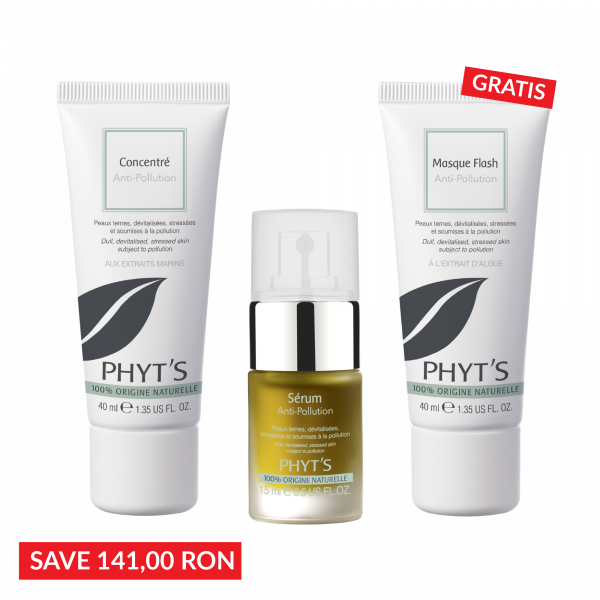 Pachet Oxygenare: Concentree Anti-Pollution +  Serum Anti-Pollution- Masca Gratis 0