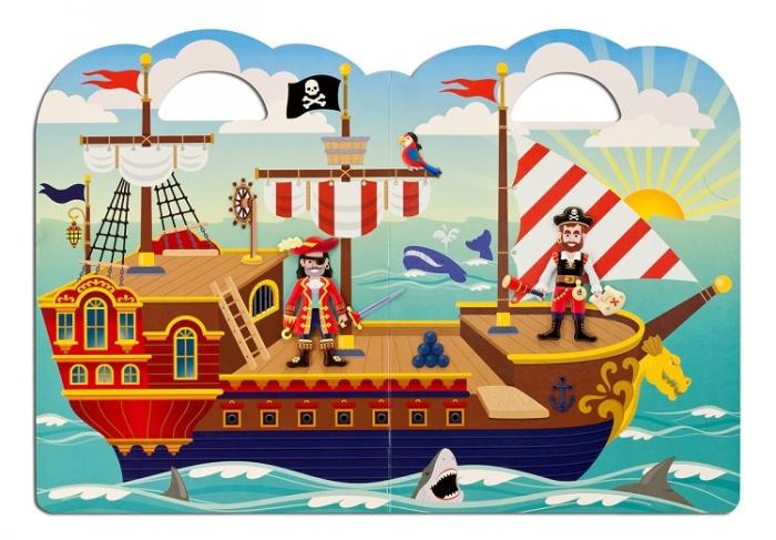 Abtibilduri pufoase Piratii Melissa and Doug [1]