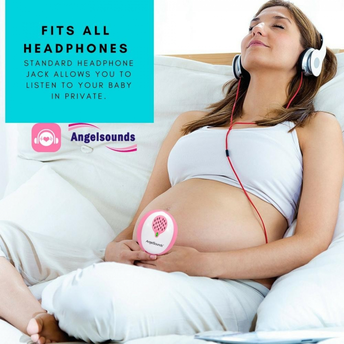 Aparat de ascultat sunete fetale cu aplicatie smartphone Angelsounds JPD-200S [9]