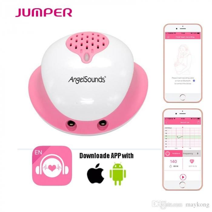Aparat de ascultat sunete fetale cu aplicatie smartphone Angelsounds JPD-200S [0]