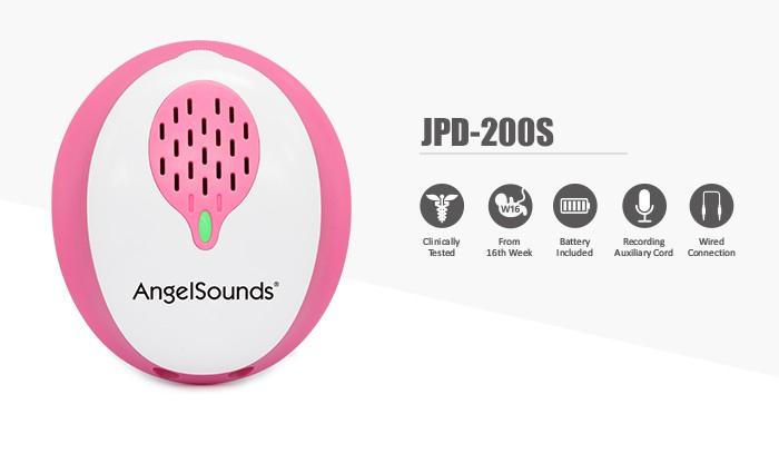Aparat de ascultat sunete fetale cu aplicatie smartphone Angelsounds JPD-200S [2]