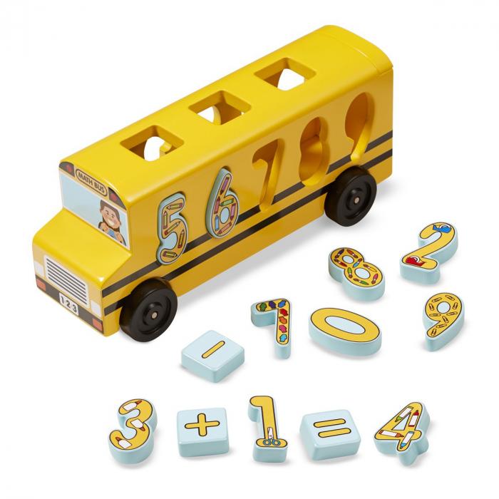 Autobuzul cu numere Melissa and Doug [0]