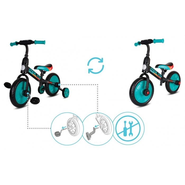 Bicicleta cu sau fara pedale Sun Baby Molto Leggero [3]