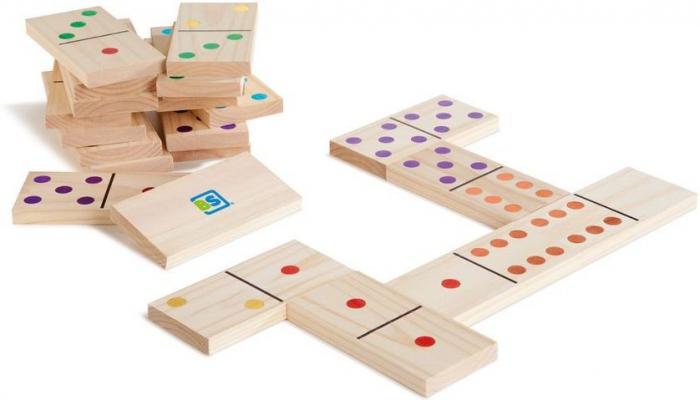 Domino din lemn gigant Buitenspeel [0]