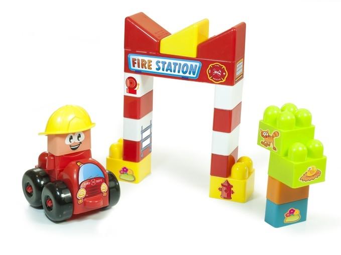 Joc constructii tematic Statie pompieri - Miniland [2]