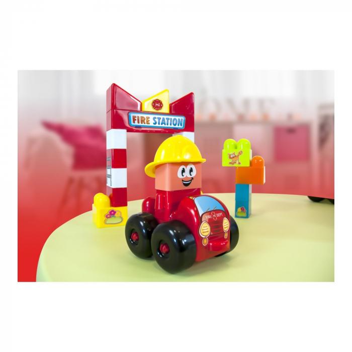Joc constructii tematic Statie pompieri - Miniland [0]