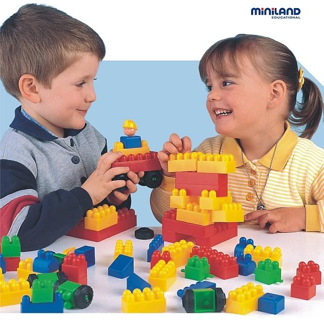 Joc de constructii Caramizi Miniland 300 buc [1]