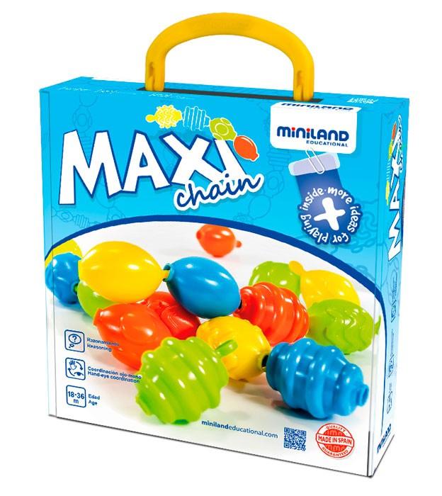Joc de imbinat Maxichain - Miniland [0]