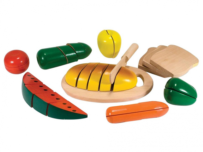 Joc din lemn alimente de feliat Melissa and Doug [0]
