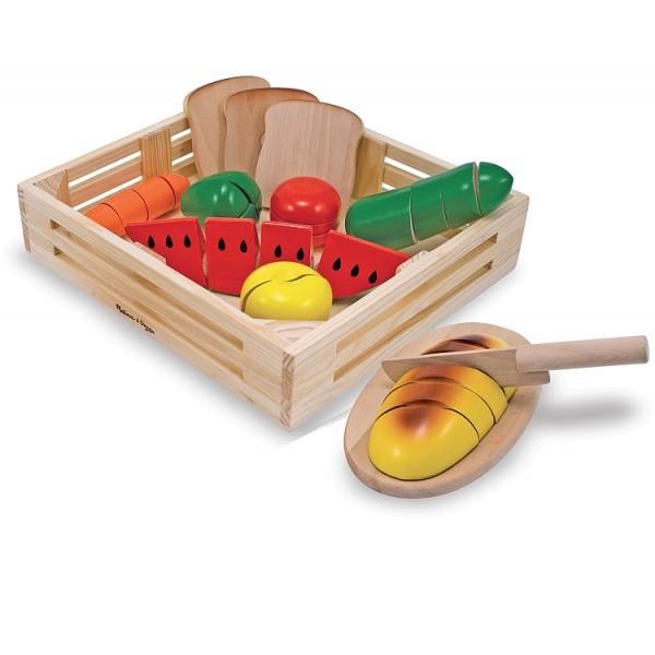 Joc din lemn alimente de feliat Melissa and Doug [4]