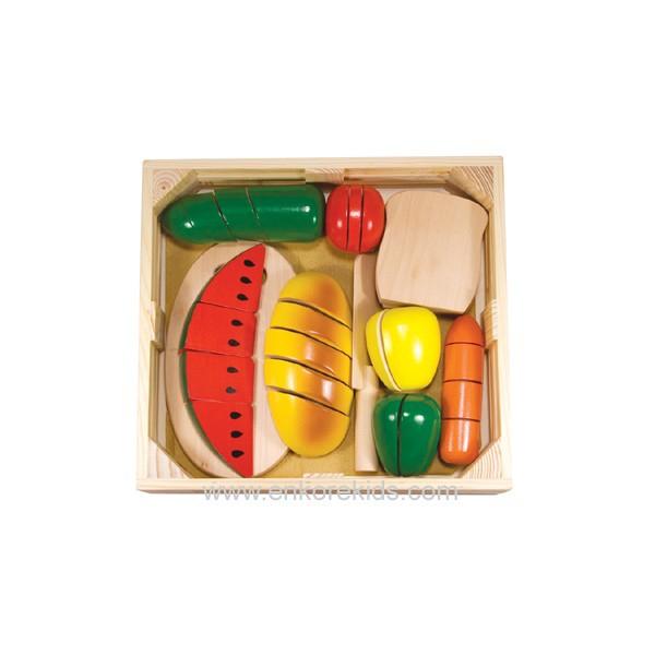 Joc din lemn alimente de feliat Melissa and Doug [1]