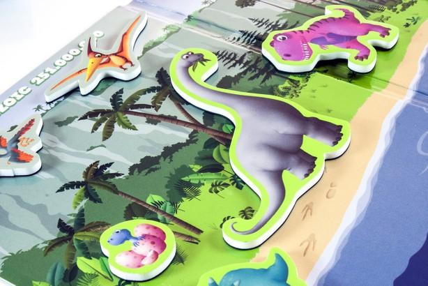 Joc magnetic Descopera Evolutia speciilor - Miniland [1]