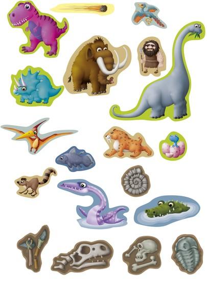 Joc magnetic Descopera Evolutia speciilor - Miniland [2]