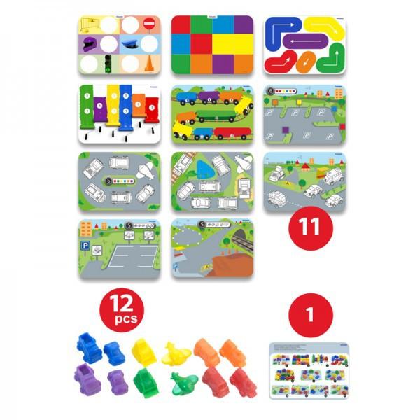 Joc matematica pe roti - Miniland [4]