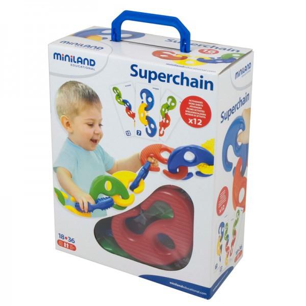 Joc Superchain 16 piese Miniland [2]