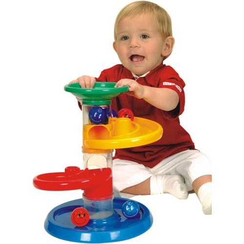 Jucarie cursa cu bile pentru bebelusi Miniland [1]