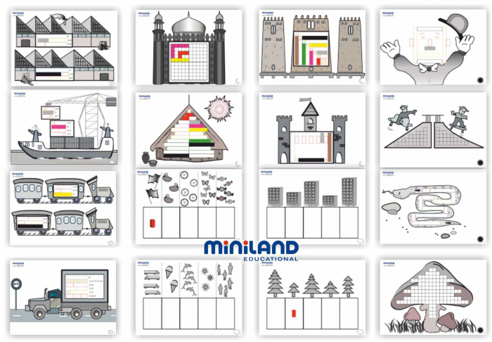 Kit pentru jocuri aritmetice Miniland [2]