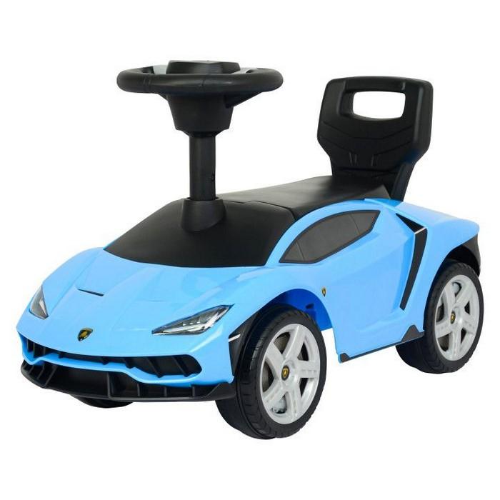 Masinuta de impins Lamborghini 3726A - Albastru [9]