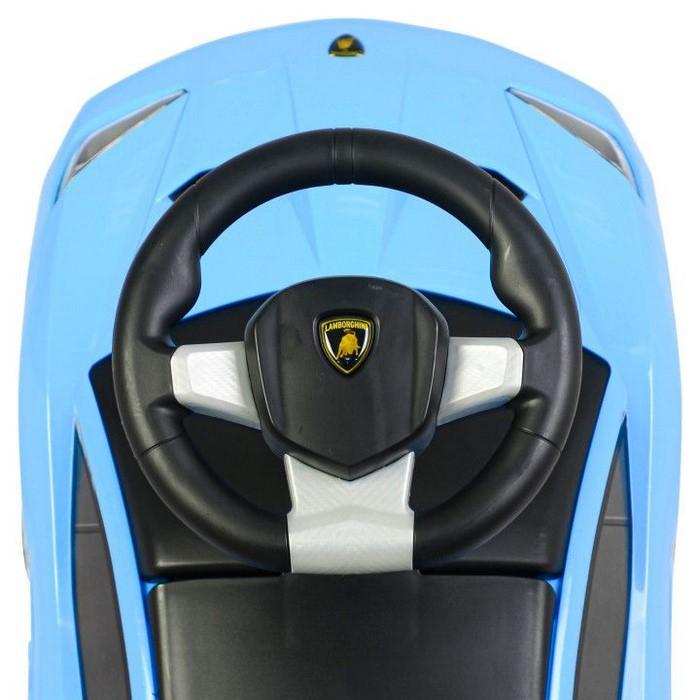 Masinuta de impins Lamborghini 3726A - Albastru [7]