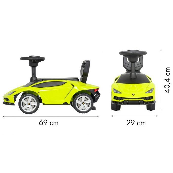 Masinuta de impins Lamborghini 3726A - Verde [5]
