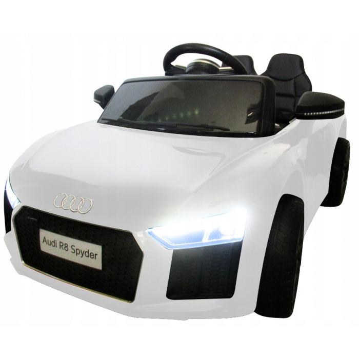Masinuta electrica cu telecomanda Audi R8 R-Sport - Alb [1]
