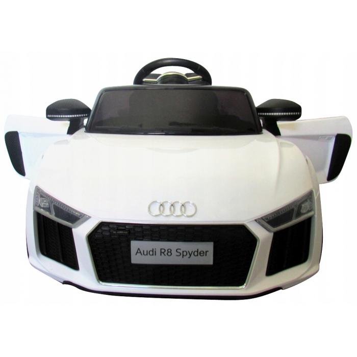 Masinuta electrica cu telecomanda Audi R8 R-Sport - Alb [3]
