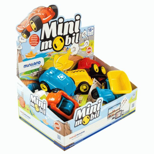 Minimobil 12  Masina de taxi Miniland [0]