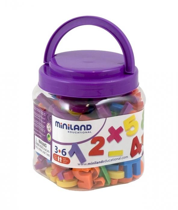 Numere magnetice Miniland 162 buc [1]