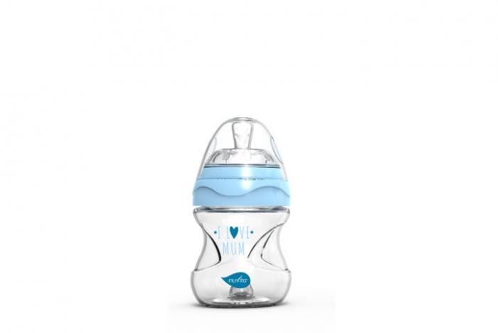 Biberon 150ml - blue - Nuvita [0]