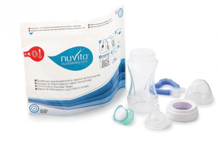 Pungi sterilizatoare microunde 5 buc  Nuvita [1]