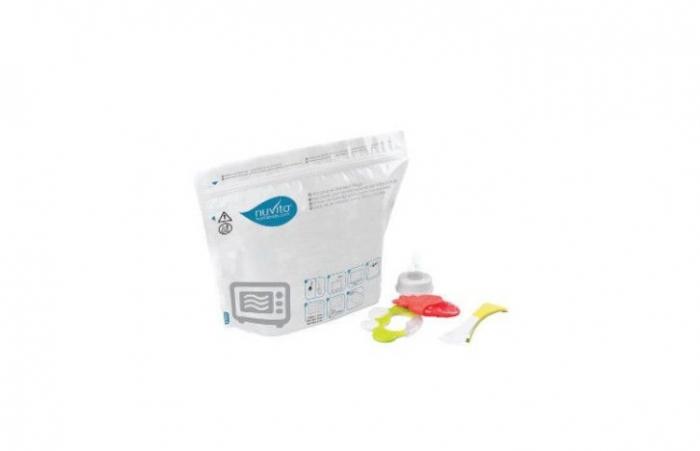 Pungi sterilizatoare microunde 5 buc  Nuvita [0]
