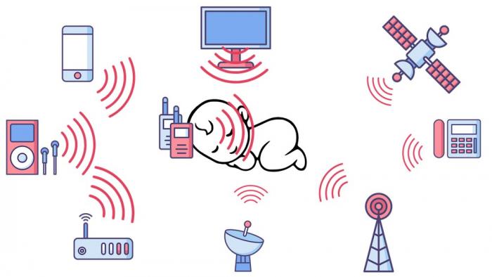 Interfon bebelusi cu proiector de noapte [6]