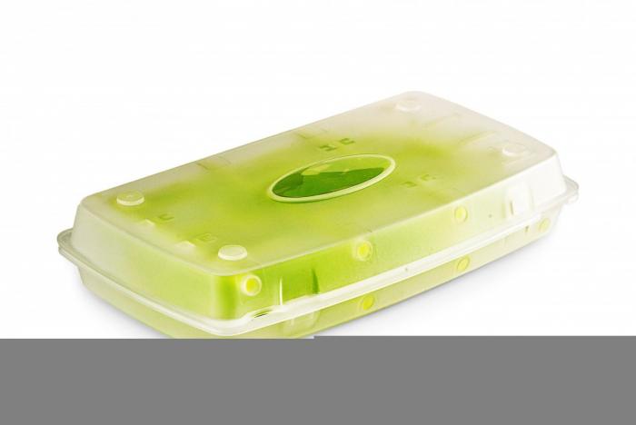 Suport pliabil uscare biberoane si accesorii - verde - Nuvita [2]