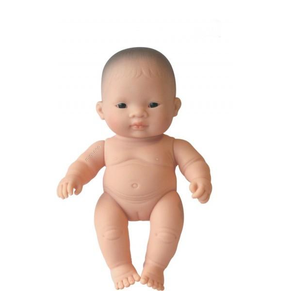 Papusa Bebelus asiatic fetita Miniland 21 cm [0]