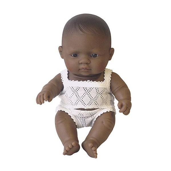 Papusa bebelus fetita latinoamericanca Miniland 21 cm [0]