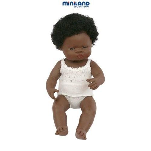 Papusa fetita africana Miniland 38 cm [0]