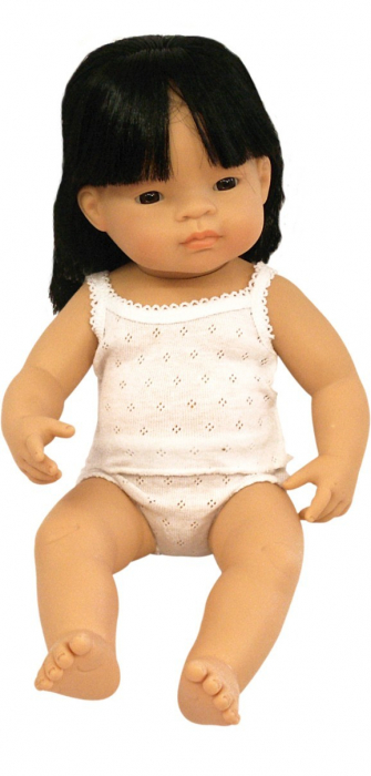 Papusa fetita asiatica Miniland 38 cm [0]