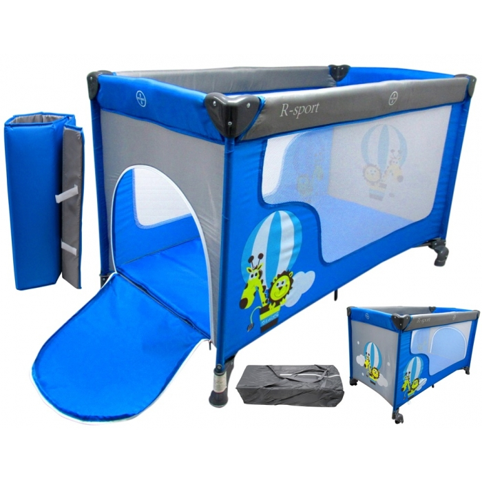Patut pliabil R-Sport K2 - Albastru [1]
