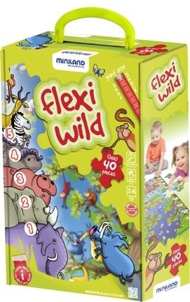 Puzzle de podea educativ cu numere Miniland 40 piese - Miniland [1]
