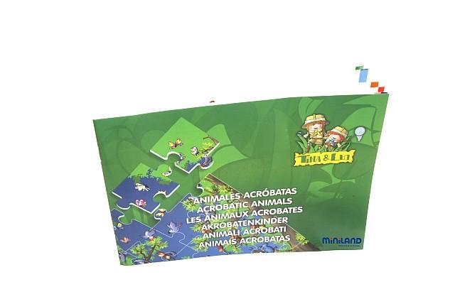 Puzzle de podea educativ cu numere Miniland 40 piese - Miniland [5]