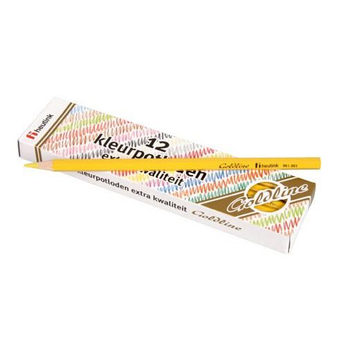 Set 12 creioane colorate Goldline 3.7 mm Galben deschis- Heutink [0]