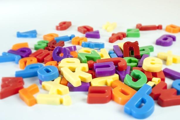 Set 66 litere mici magnetice - Miniland [5]